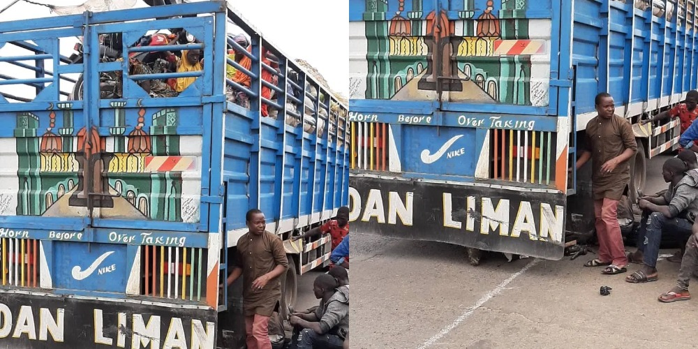 COVID-19: Kwara Police Intercepts 50 Zamfara Passengers Hidden Inside Trailer Loaded With Fruits 1