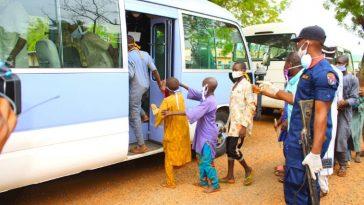 Coronavirus: Drama As Taraba Government Rejects 100 Almajiris From Nasarawa State 3