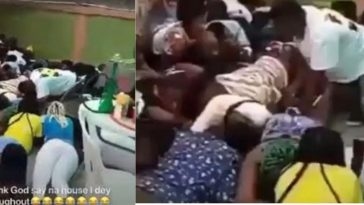 COVID-19: Police Flogs Bar Customers For Violating Social Distancing Order In Delta State [Video] 8