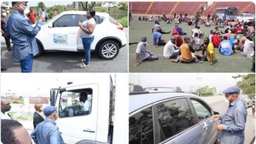 COVID-19: Gov Wike Personally Inspects Lockdown In Rivers, Arrests Over 200 Defaulters [Photos/Video] 5