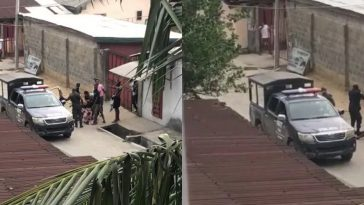 Nigerian Police Officer Shots Man For Speaking Up Against Assault On His Neighbour [Video] 4