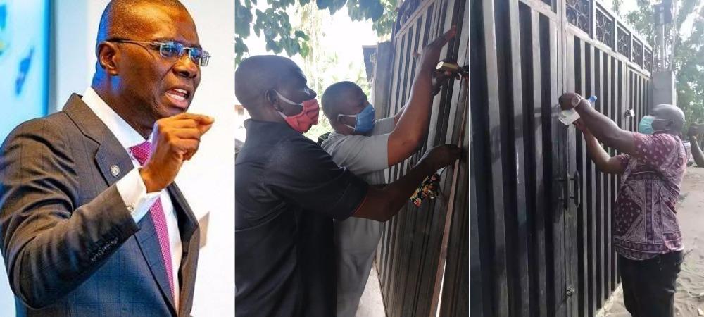 Governor Sanwo-Olu Shutdown Hotel, Night Club For Violating COVID-19 Guidelines In Lagos 1