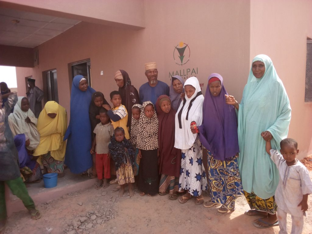 Kebbi Governor's Wife Builds N12 Million House For 60-Year-Old Blind Man [Photos] 3