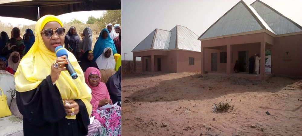 Kebbi Governor's Wife Builds N12 Million House For 60-Year-Old Blind Man [Photos] 1