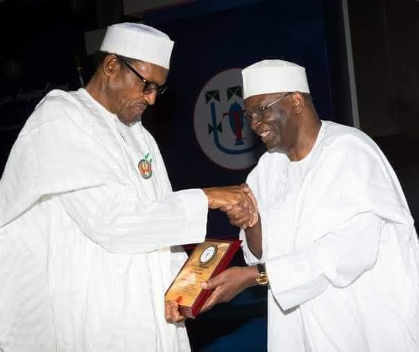 Professor Agboola Gambari Appointed As New Chief Of Staff To President Buhari 1