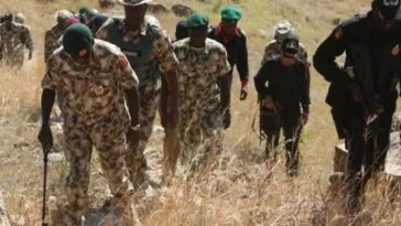 Kidnappers Demands N20 Million To Release Army Captain, Two Others Nigerian Soldiers In Ondo 5