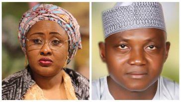Aisha Buhari Chased Garba Shehu Out Of Aso Rock, Force Him To Wear Visitor's Tag – Nnamdi Kanu 3