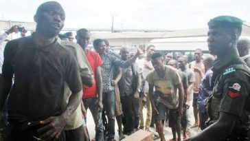 Police Arrests Nine IPOB Members For Gun Snatching In Delta, Recovers 13 Stolen AK-47 Rifles 1