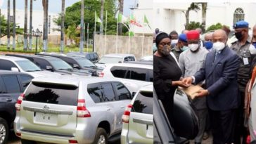 Governor Uzodimma Buys 20 Utility Vehicles For Imo Judges, Promises To Improve Their Welfare 9