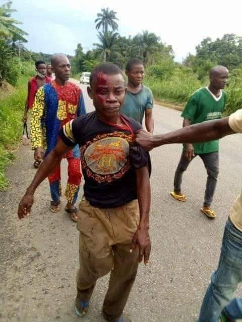 Man Kills His Cousin With Cutlass Over Mango Fruits In Abia [Graphic Photos] 1
