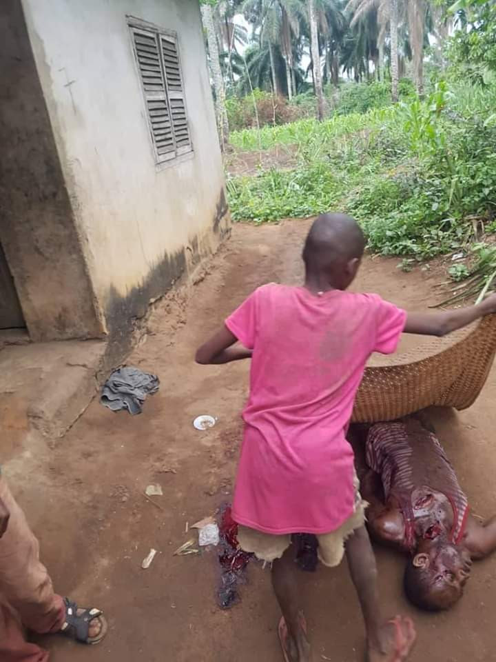 Man Kills His Cousin With Cutlass Over Mango Fruits In Abia [Graphic Photos] 2
