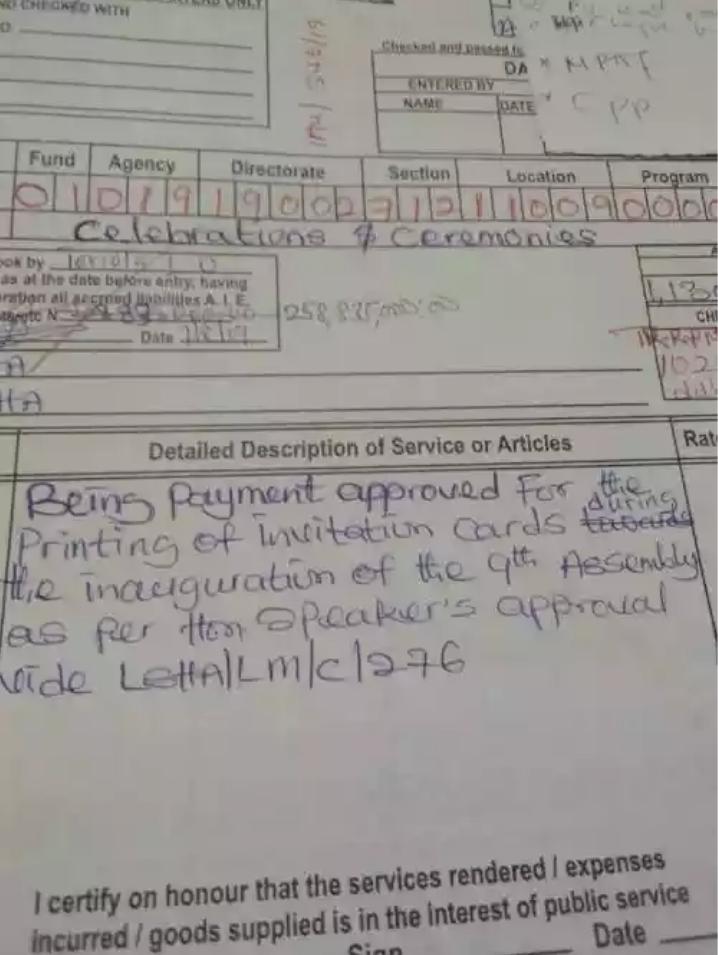 Lagos Speaker, Mudashiru Obasa Fraudulently Approves N258m For Printing Of Invitation Cards 2