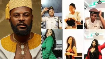 Falz Writes To Nigerian Immigration Over Five Female Officers Punished For 'Bop Daddy Challenge' 3