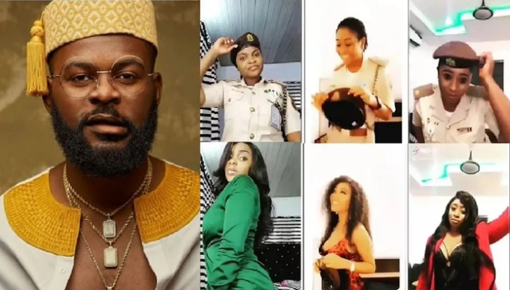 Falz Writes To Nigerian Immigration Over Five Female Officers Punished For 'Bop Daddy Challenge' 1