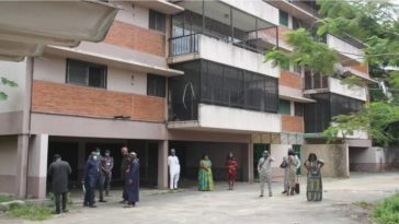 EFCC Hands Over Diezani's Forfeited Mansion To Lagos Government As COVID-19 Isolation Centre 7