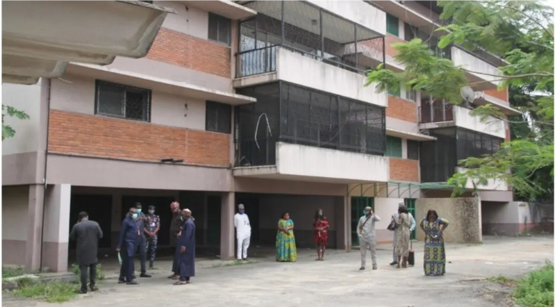 EFCC Hands Over Diezani's Forfeited Mansion To Lagos Government As COVID-19 Isolation Centre 1