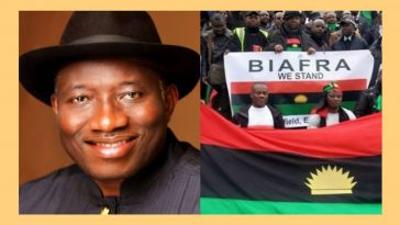 Former President, Goodluck Jonathan Speaks On 'Why Niger Delta Don't Want To Be Part Of Biafra' 2
