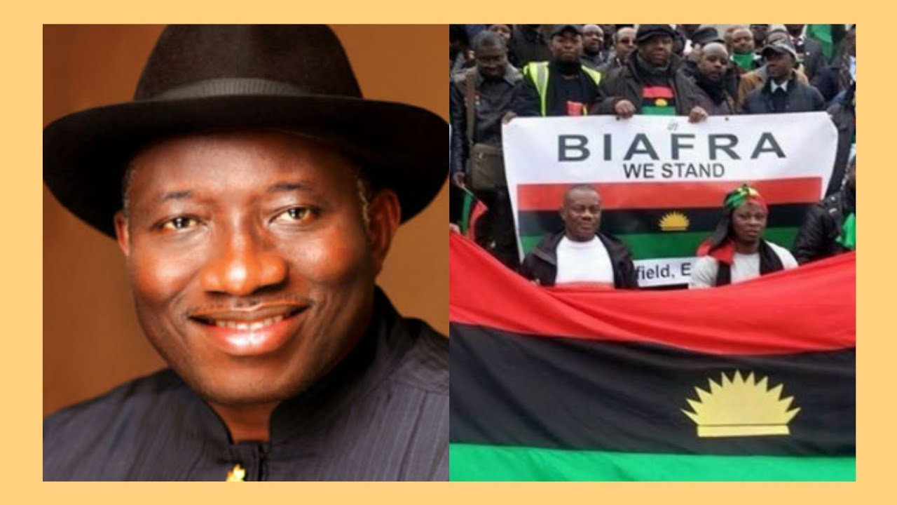 Former President, Goodluck Jonathan Speaks On 'Why Niger Delta Don't Want To Be Part Of Biafra' 1