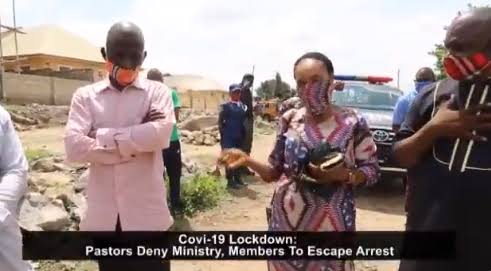 Three Pastors Deny Members To Evade Arrest After Violating Lockdown Order In Abuja [Video] 1