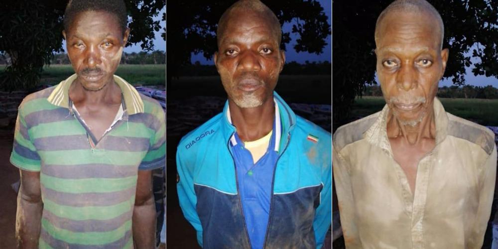 Notorious Criminal, Gana Escapes Arrest As Nigerian Soldiers Raid His Shrine In Benue [Photos] 7