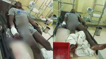SARS Operatives Shoot 17-Year-Old Boy While Searching For Kidnappers In Abuja [Photos] 2