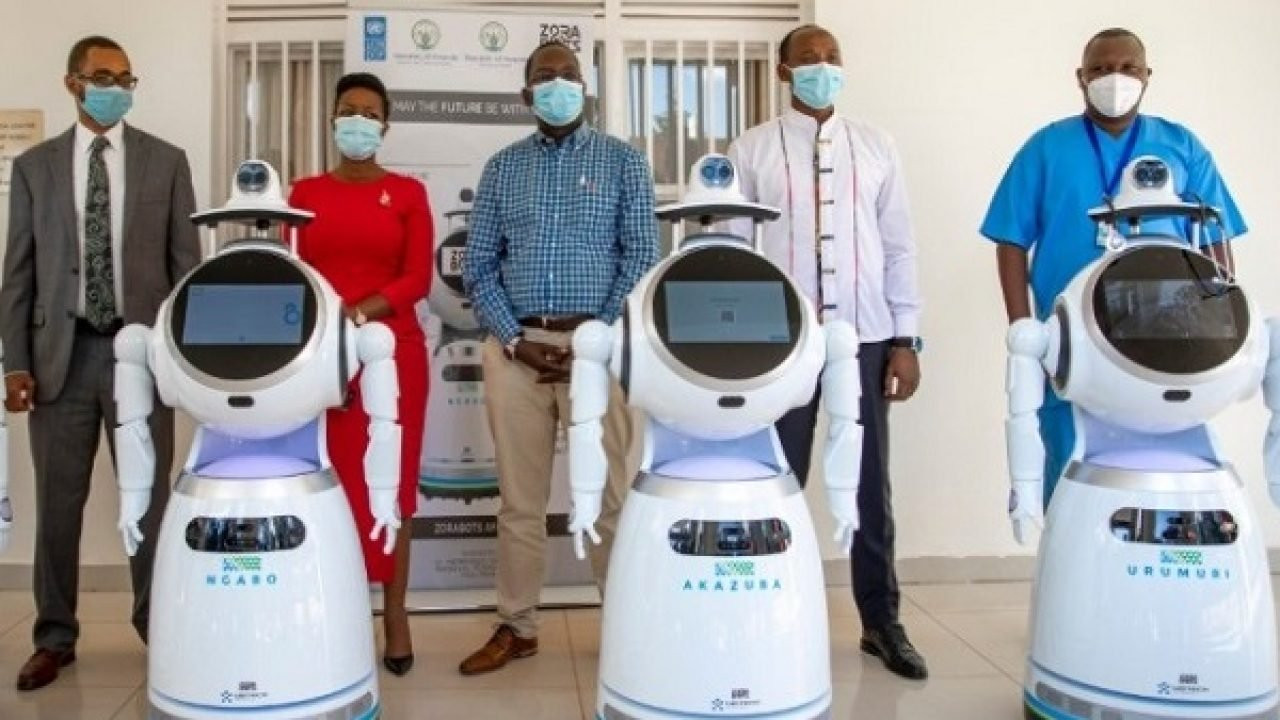 Rwanda Takes Delivery Of Robots That Can Screen '150 People Per Minute' For Coronavirus [Photos] 1