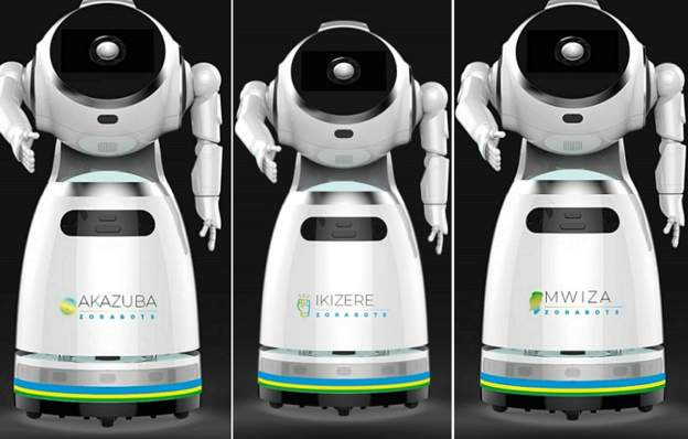 Rwanda Takes Delivery Of Robots That Can Screen '150 People Per Minute' For Coronavirus [Photos] 2