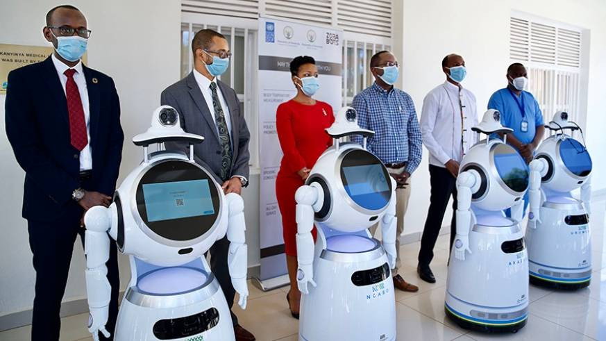 Rwanda Takes Delivery Of Robots That Can Screen '150 People Per Minute' For Coronavirus [Photos] 3