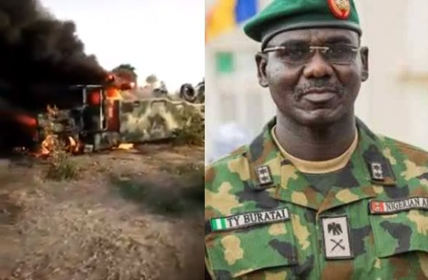 Nigerian Army Reacts To Viral Video Of Soldiers Cursing Buratai After Boko Haram Ambush 1