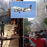 BREAKING: Airplane Carrying 107 People Crashes Into Houses Near Airport In Pakistan [Video] 29