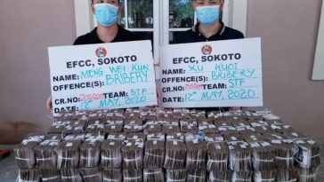 Nigerian Court Grants N5m Bail To Chinese Men Accused Of Offering N100m Bribe To EFCC In Sokoto 9