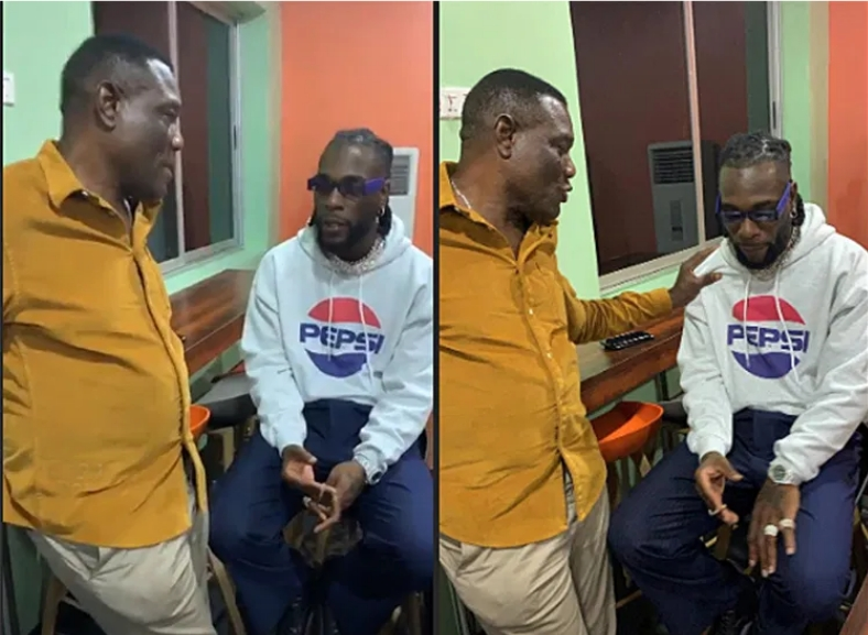 Police Arrests Burna Boy And His Father After Noise Complains From His Neighbours [Video]