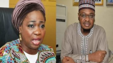 Abike Dabiri Accuses Ali Pantami Of Using 'Gunmen' To Chase Her Staffs Out Of Office [Video] 11