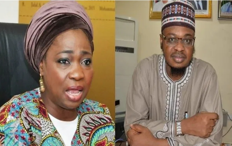 Abike Dabiri Accuses Ali Pantami Of Using 'Gunmen' To Chase Her Staffs Out Of Office [Video] 1