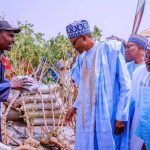 """Produce More, Nigeria Has No Money To Import Food"" - President Buhari Tells Farmers 27"