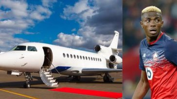 Victor Osimhen Gets Private Jet From French Club Lille To Fly Back To Nigeria For His Father's Burial 5