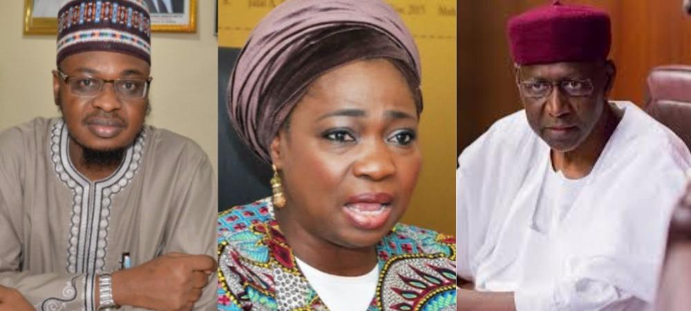How Abba Kyari Fueled 'Fight' Between Abike Dabiri-Erewa And Communications Minister, Pantami 1