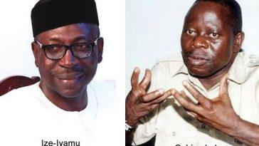 BREAKING: Oshiomhole's Faction Of APC Picks Pastor Ize-Iyamu As Edo Governorship Candidate 2