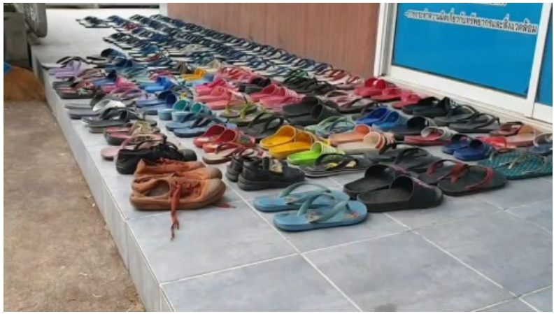 24-Year-Old Man Steals 126 Slippers From His Neighbours So He Could Have S£x With Them [Photos] 2