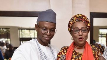 """I Am Not Part Of My Husband's Government"" - Governor El-Rufai's Wife, Hadiza Slams Her Critics 1"