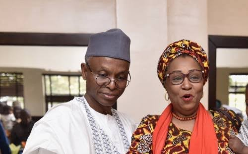 """""""I Am Not Part Of My Husband's Government"""" - Governor El-Rufai's Wife, Hadiza Slams Her Critics 1"""