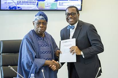 Akinwumi Adesina: AfDB Governance At Risk Of Being Hijacked By US — Olusegun Obasanjo 1