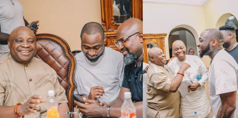 Davido Reacts As FG Drops Charges Against His Uncle Senator Adeleke Over Alleged Exam Malpractice 1