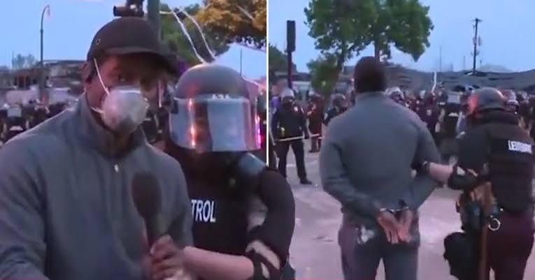 Police Arrests CNN Reporter On Live TV While Covering George Floyd Protest In Minneapolis [Video] 1