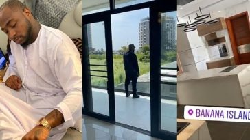 Davido Show Off His Newly Acquired Multi-Million Naira Mansion In Banana Island, Lagos [Video] 6