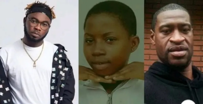 Nigerians Attacks Slimcase Over 'Insensible' Comments On George Floyd And Tina's Deaths 1