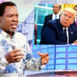 """""""More Trouble Is Coming End Of June"""" - Prophet T.B Joshua Warns US President, Donald Trump 28"""