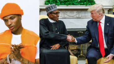 """Buhari And Trump Are Both Clueless...Only Difference Is One Can Use Twitter Better"" - Wizkid 7"