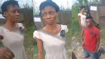 Brother-In-Law Beats Lady And Her Baby, Throws Them Inside Gutter For Disturbing His Sleep [Video] 4