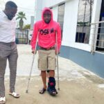 Davido Spotted Walking With Crutches After Breaking His Left Leg [Photos] 27
